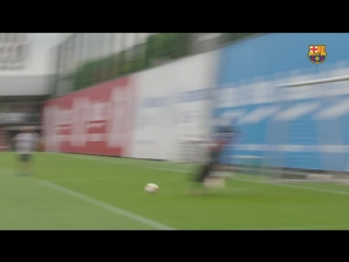 Target practice at Wednesday training.mp4