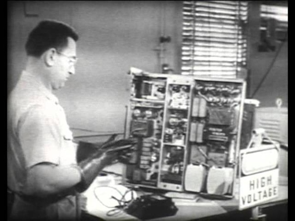 Safety Precautions for Electronic Personnel US Navy training film 1951