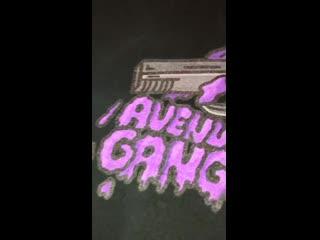 Avenue gang t-shirt 👹☠