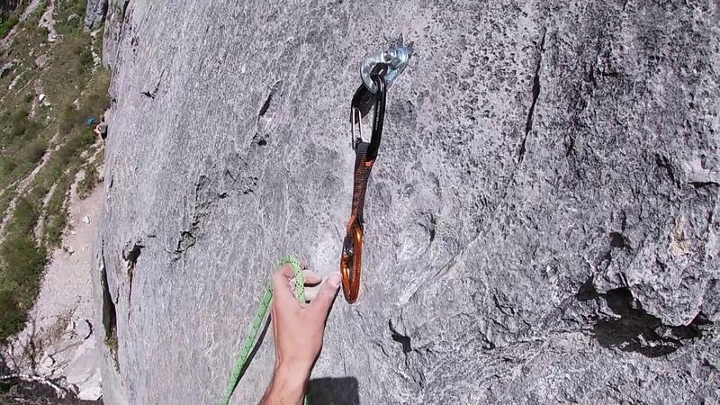 POV climbing Mokhito 6a