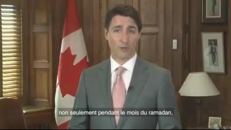 Le Premier ministre Canadien souhaite une