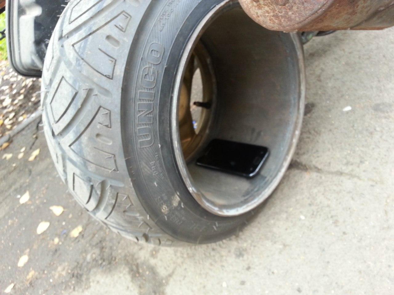 Как сделать колеса низкого давления своими руками, диски 83