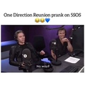 """HS updates - 1D vids? on Instagram: """"5sos got pranked by bbc radio 1 about one direction's come back and ashton's reaction is so funny «no way? no..."""