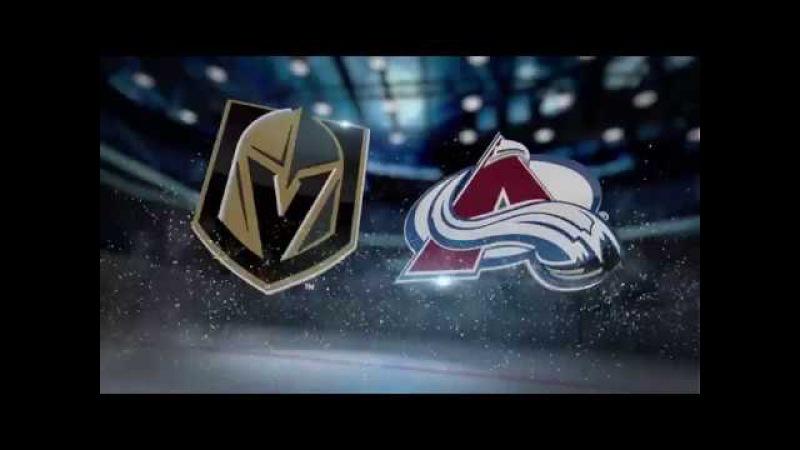 Vegas Golden Knights vs Colorado Avalanche. Pre season. Recaps. Highlights. September 19, 2017