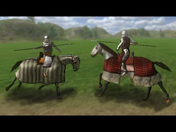 Mount and blade Warband Swadian Knight VS Sarranid Mamluke Contact Jousting