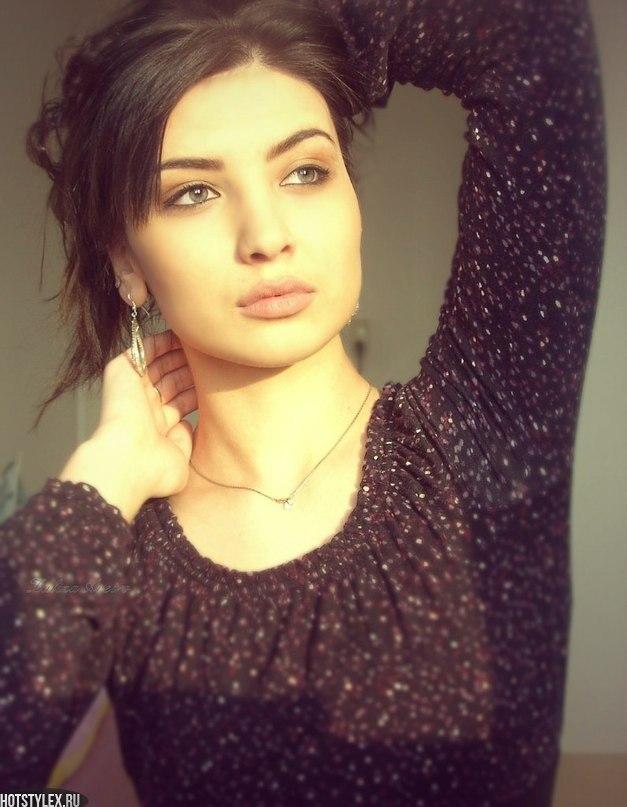 Красивые девушки чечни фото красивые