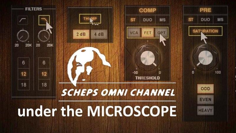 Scheps Omni Channel under the MICROSCOPE