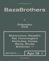 Baza Brothers at Griboedov Club apr.19