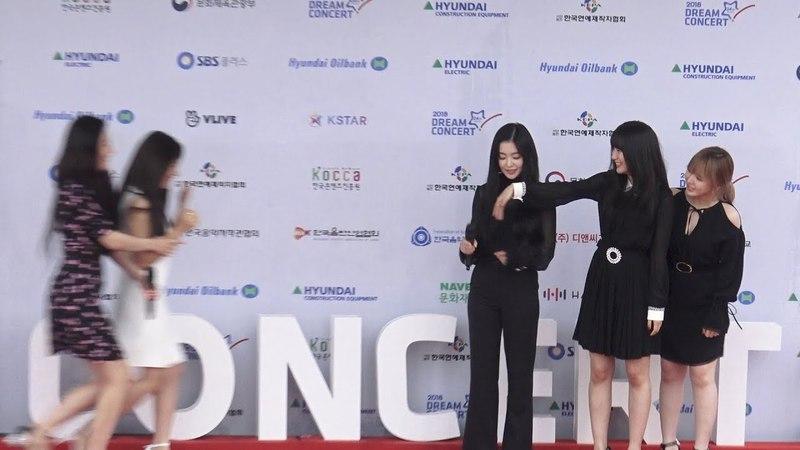 레드벨벳 REDVELVET 예리 조이 어디까지 가 Hapiness~ 즐거운 막내들 2018드림콘서트 포토 5090