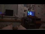 Meow Mix song и реакция Даниэля на танец маминых ног