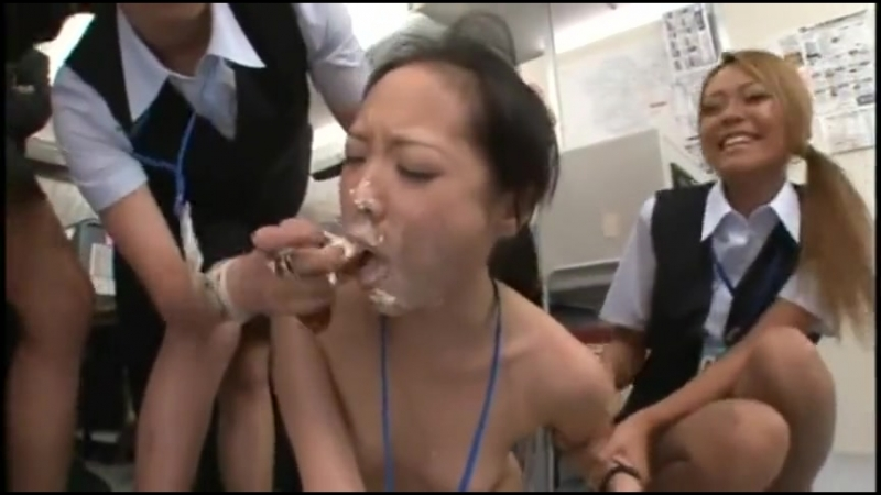 Japanese girl piss office humiliation