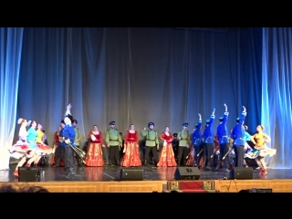 Государственный казачий ансамбль песни и танца Ставрополье в Вологде