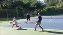 Dominika Cibulkova Tennis Footwork Training WTA Fitness