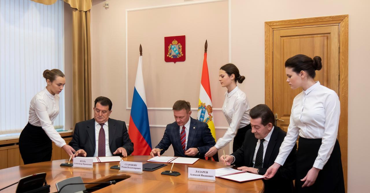 Подписано трехстороннее соглашение между администрацией, профсоюзами и объединением работодателей