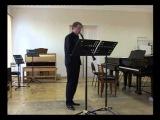 Три серенады для кларнета соло. Я. Зильберман.
