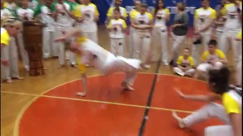 3º Iê Berimbau Capoeira Festival na Karelia. Церемония смены корды (пояса)