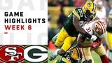 49ers vs. Packers Week 6 Highlights NFL 2018