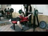 Насырова Диляра - жим 47,5 кг