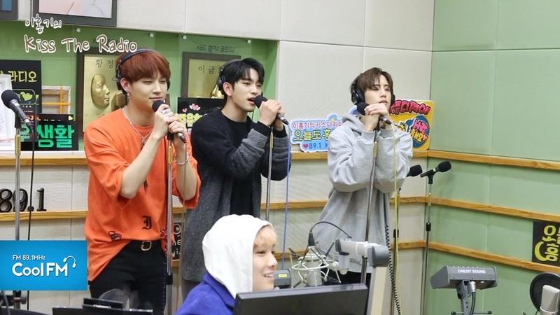 갓세븐 GOT7 마크 JB 진영 예뻤어 라이브 LIVE 170323[이홍기의 키스 더 라디오]