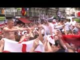 England fans singing in Russia 2018 !!