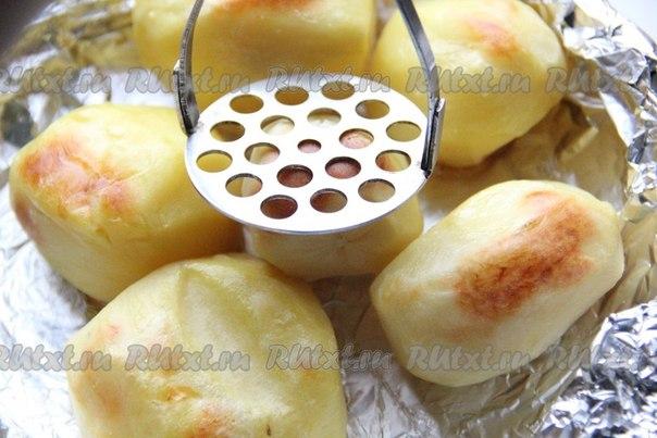 Печеный картофель в аэрогриле рецепты пошагово