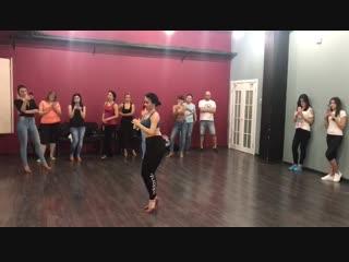 Бачата (женская техника и стиль) с Наталией Поддубной, резюме, школа танцев Держи Ритм