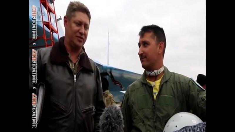 Американские пилоты на самолетах F-15С проводят совместные полеты с украинскими летчиками на авиабазе в Хмельницкой области