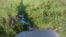 Выжимаю щуку с реки Меглинка. Рыбалка спининг, Володя 23 .