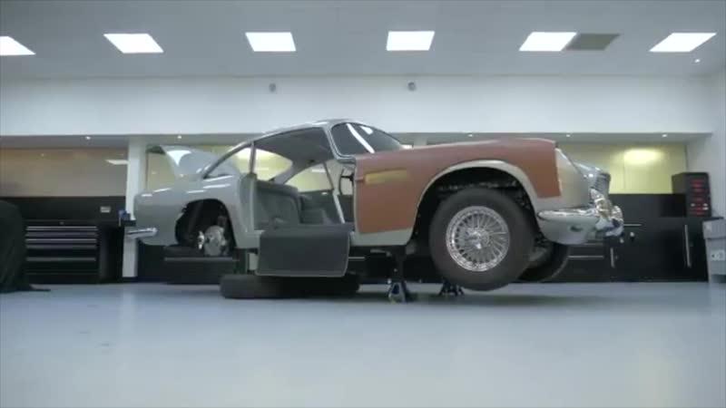 Aston Martin показала шпионские гаджеты для «машин Бонда» за $3,5 млн