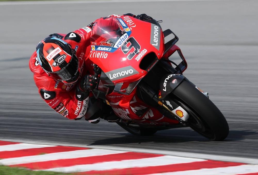 Новый обтекатель Ducati с шестью крыльями