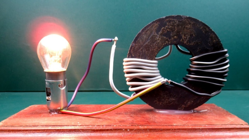 Free energy generator Magnet Coil Work 100 - New Science project experiment at Home