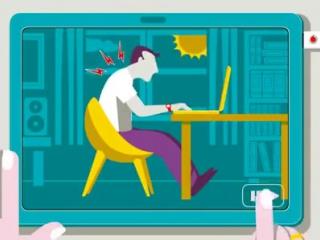 Как не навредить себе работой за компьютером.