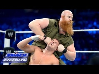 Cody Rhodes & Goldust vs. Harper & Rowan - WWE Tag Team Title Match: SmackDown, Jan. 3, 2014