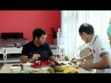 Ильдар и Марьям Бибарсовы ( Средняя Юлюзань, Пензенская обл) привезли Исмагилу Шангарееву казы, белые грибы и рыжики