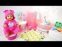 РУМ ТУР по ВАННОЙ КОМНАТЕ Кукла Беби Бон Мультик Игрушки Для девочек Для детей