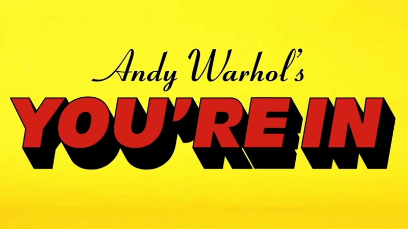 ANDY WARHOL'S YOU'RE IN BY COMME DES GARÇONS