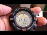 Обзор часов Casio ProTrek PRG-270