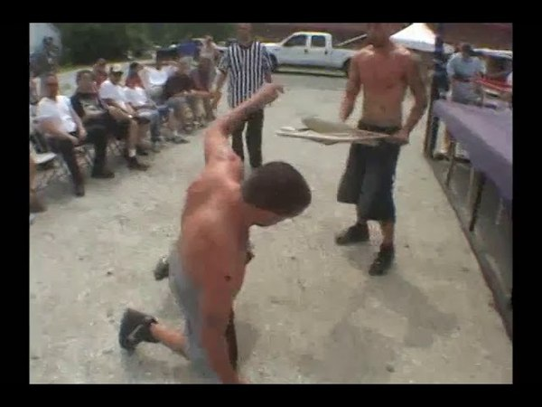 Jay Briscoe vs. Mark Briscoe - Chair Incident