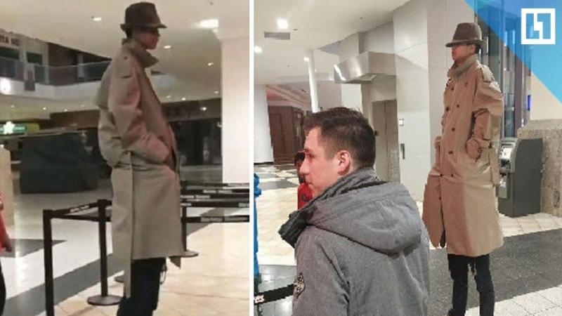 Человек-гигант пришёл в кино