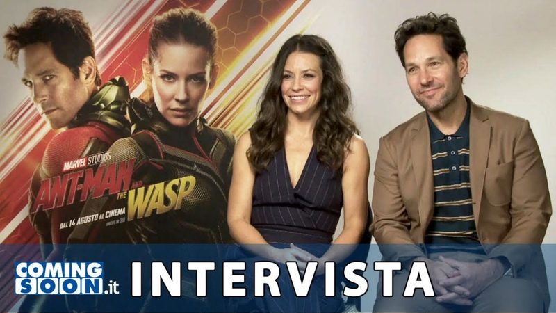 Ant-Man and the Wasp Intrervista esclusiva di ComingSoon a Paul Rudd e Evangeline Lilly | HD