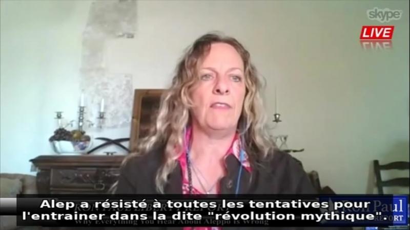Alep - Lintox monstrueuse dénoncée (Journaliste britannique)