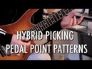Hybrid Picking Pedal Point Patterns