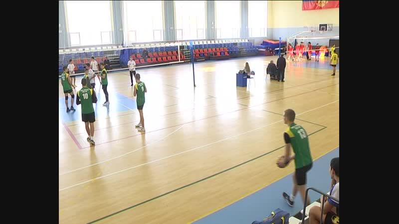 Отбор юных волейболистов ДЮСШ на районную спартакиаду