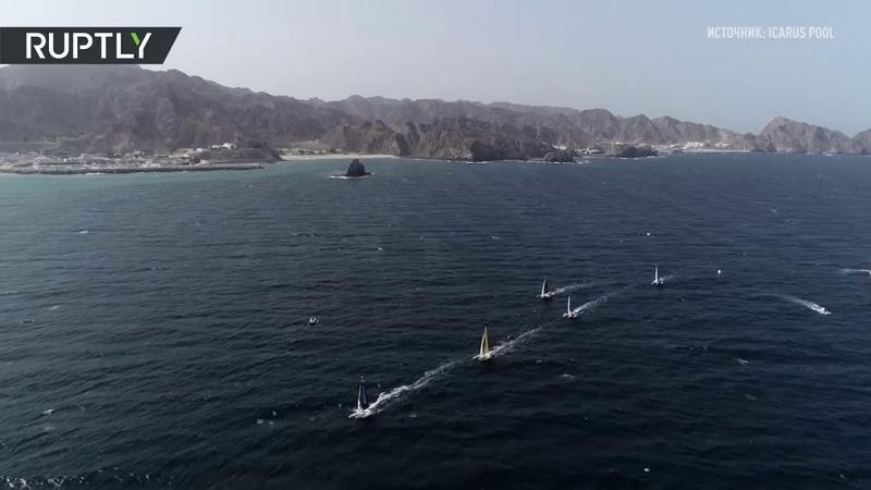 На всех парусах: десять стран участвуют в регате в Омане