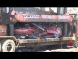 Посмотрите, как полиция Австралии уничтожает машины стритрейсеров