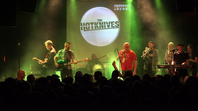 The Hotknives Mick Clare - Dave and Mary (Köln, 14. 12. 2018)