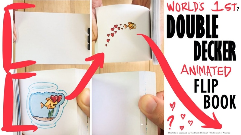 (Worlds 1st) Double Decker Interactive Flipbook