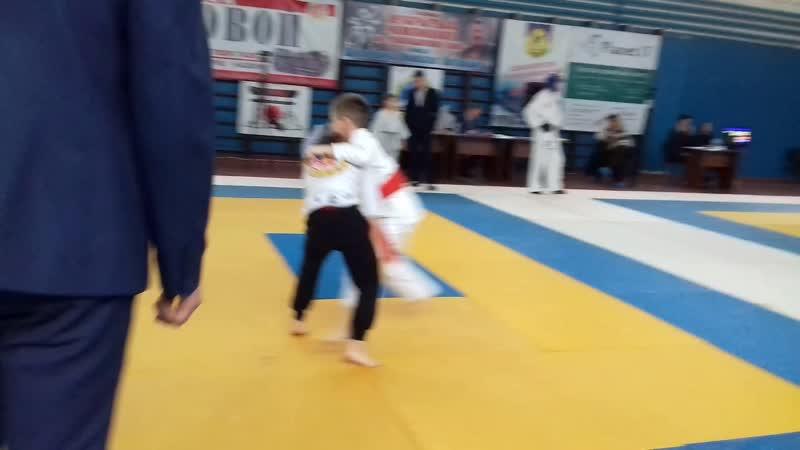 Финал обласного турнира по рукопашному бою(борьба) Ратибор занял 2место