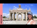 VDNKh: a fantastic Moscow park only locals know   Russia 2018 vlog