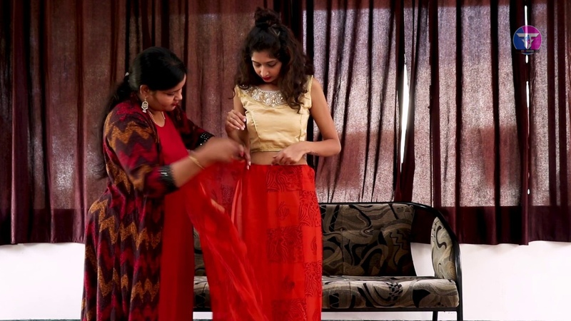 How to wear Saree Easily, Quickly and Perfectly - DIY saree draping I new look saree wearing